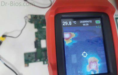 Lenovo B590-Solve B+ short circuit