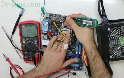 How to Repair Asus H61M-C Motherboard
