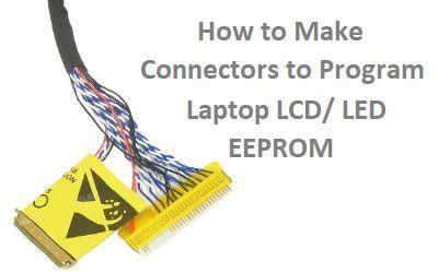 How to Program Laptop LED by SVOD3-TNM5000-RT809 Programmer