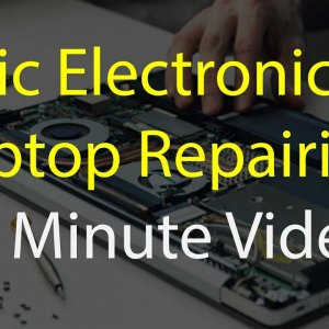 basic electronics in laptop repairing