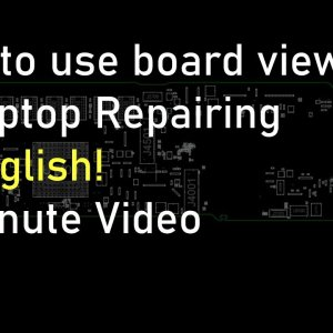 How to use board view files in Laptop Repairing